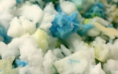 Crumbed foam